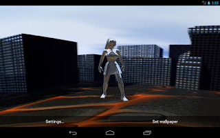 Screenshot of 3D Panorama Avatar LWP TRIAL