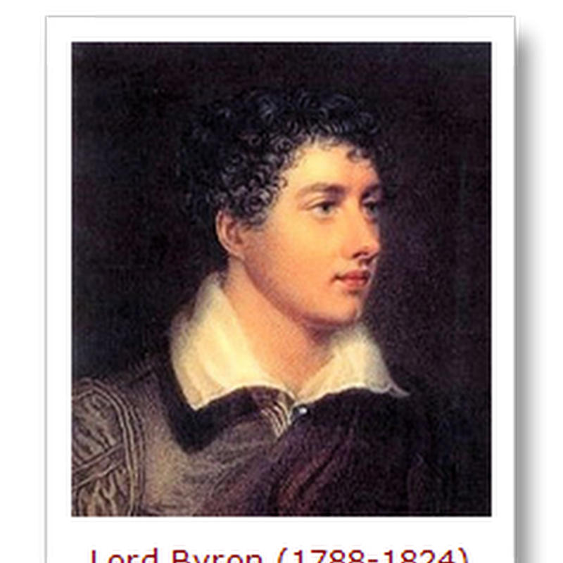 """Strange but true"" — there are quotes by Lord Byron you probably didn't know you knew…"
