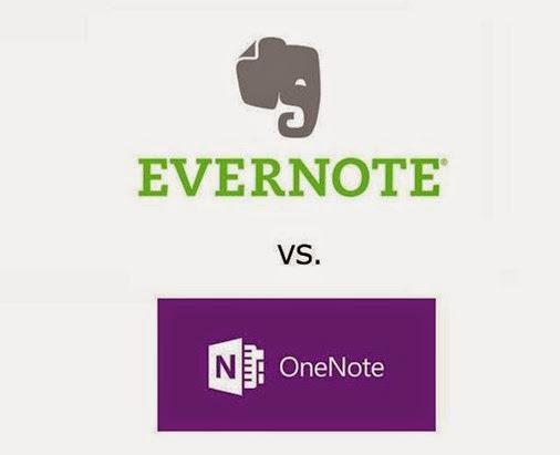 Evernote ou OneNote