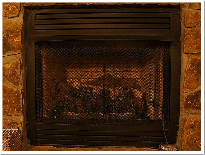 public domain fireplace picture