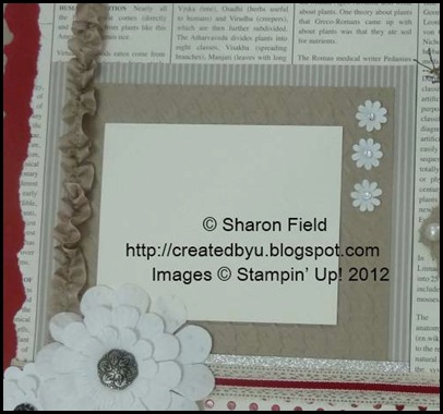 create a focal point for your scrapbook page