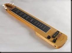 Guitarra horizontal lap guitar