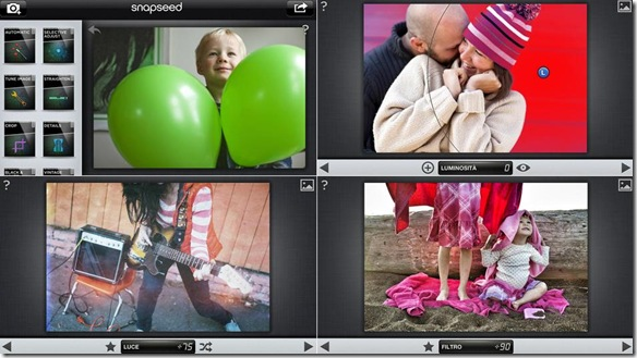 Snapseed gratis per iOS e Android