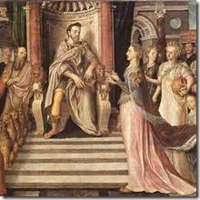 Salomao e Rainha de Saba