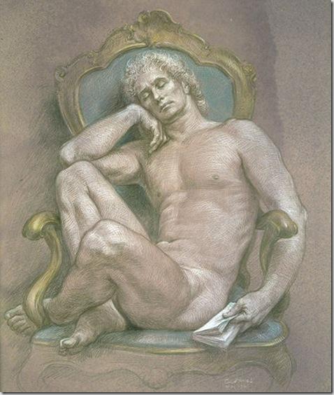 Paul-Cadmus-The-Venetian-Chair