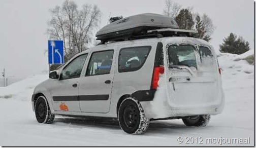 Arctic Roadtrip Erik met Dacia Logan MCV 01