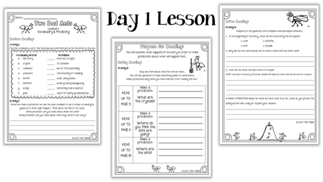Two Bad Ants - Lessons - TES Teach
