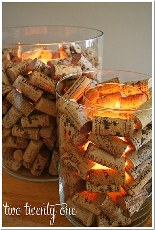 wine cork candle holder 7