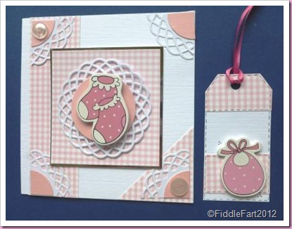 Baby Booties Card