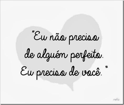 eu preciso de você