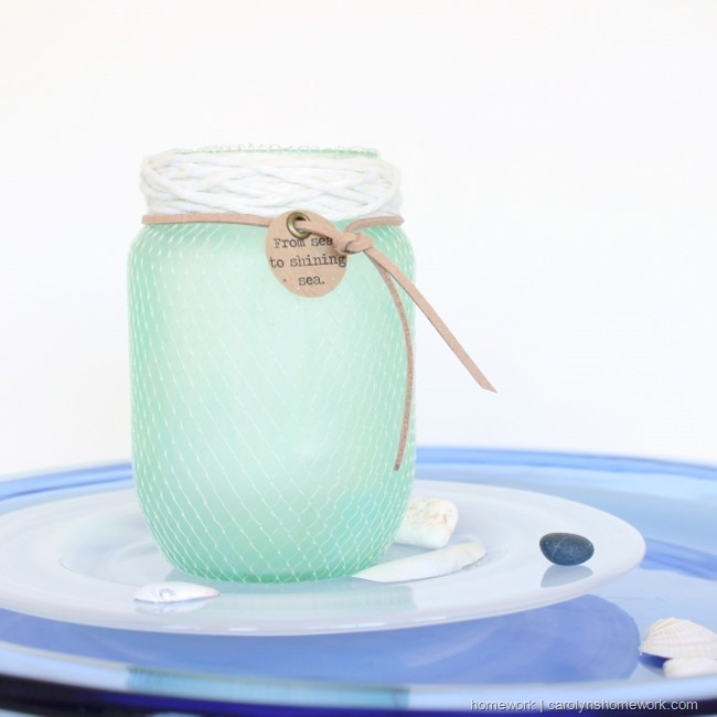 DIY Faux Sea Glass via homework |  carolynshomework (13)