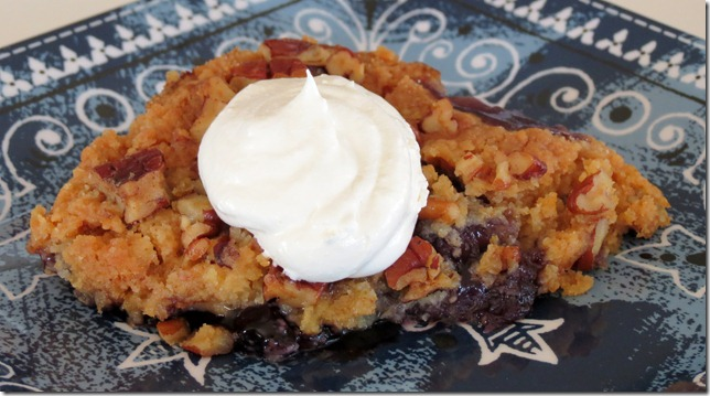 Blueberry Pineapple Pecan Crisp