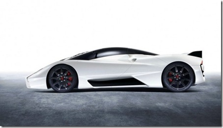 SSC Tuatara 1350HP side view
