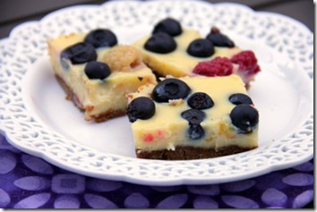 Lemon Berry Bars