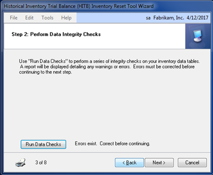 STEP2 Data Integraty