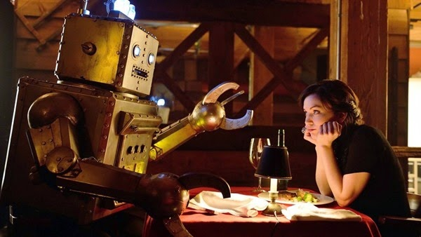 man seeking woman date robot