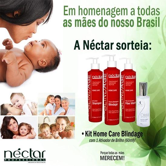 Sorteio dia das Mães Néctar do Brasil