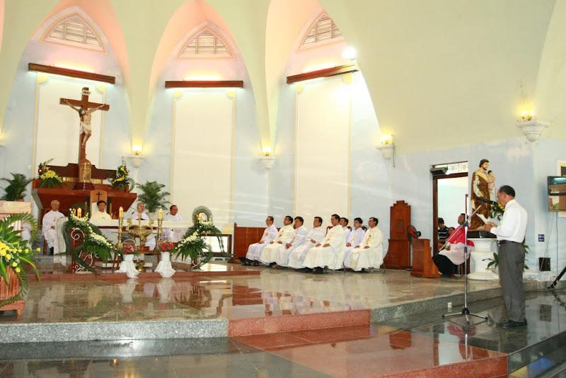Diễn văn chúc mừng Tân linh mục