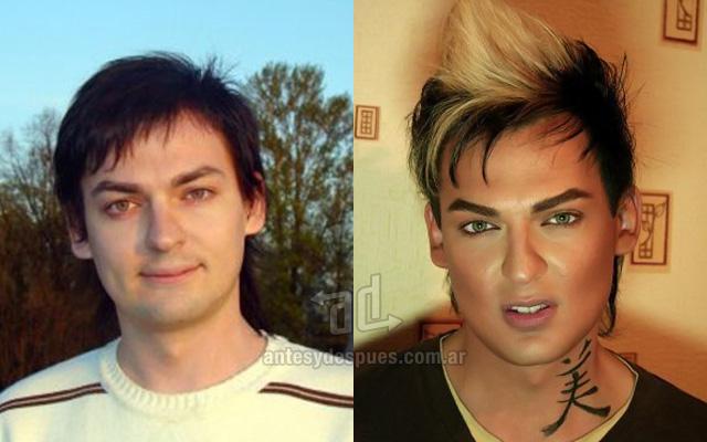 Antes y despues del maquillaje 16