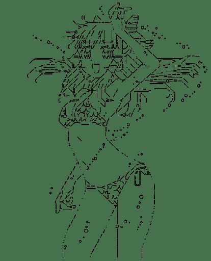 古宮柚子 水着(猫神やおよろず)