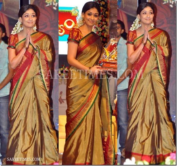 Nayanathara_Traditional_Saree