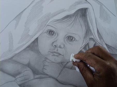 desenho de crianças a lápis 9