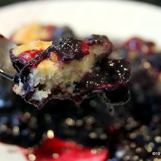 Old Fashion Blueberry Cobbler