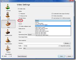 VLC Player Video wallpaper
