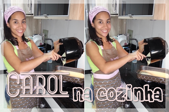 carol na cozinha