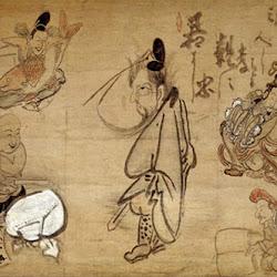 Hakuin, 7 (Chinese) Gods of Good Fortune.jpg