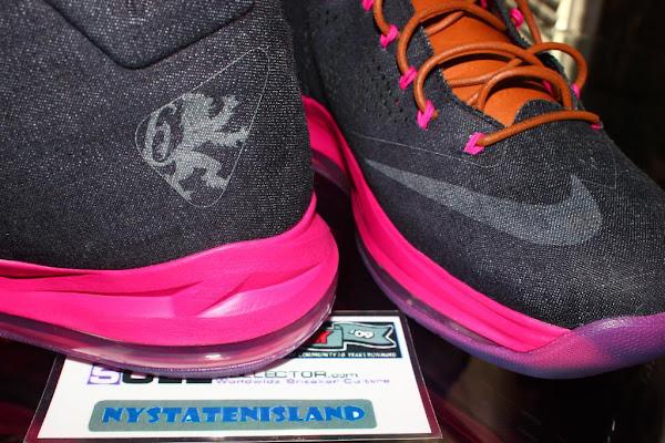 Breaking Nike LeBron X EXT Denim QS Retails For 180