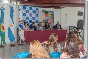 La jornada se realizó en el Parador Cultural Municipal de San Bernardo