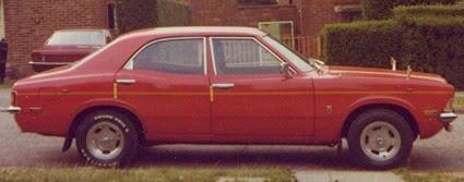 Ford Cortina NPK 914L 1.6L c1975