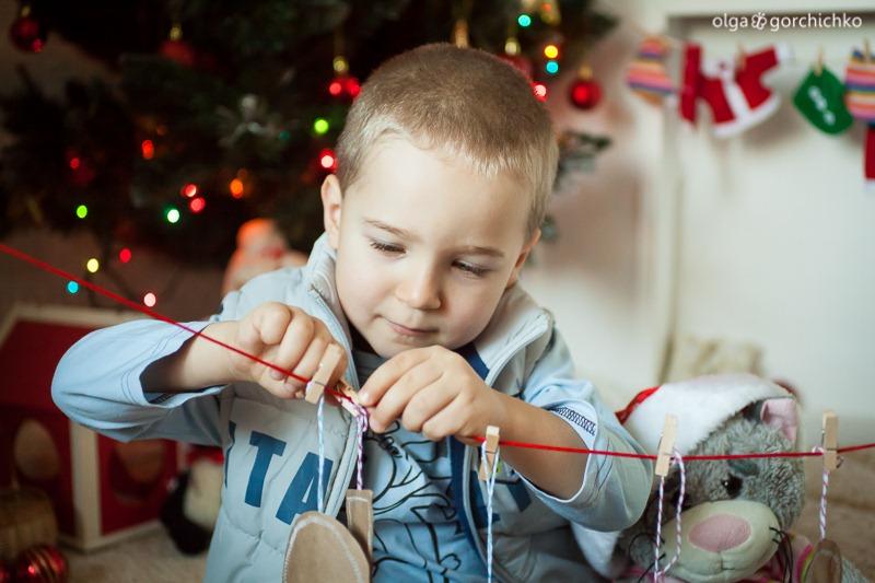 Детский новогодний фотопроект Рождественские мечты. 29. Миша Паньков-23
