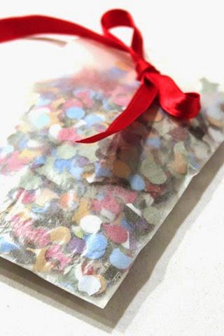 Confetti card 2