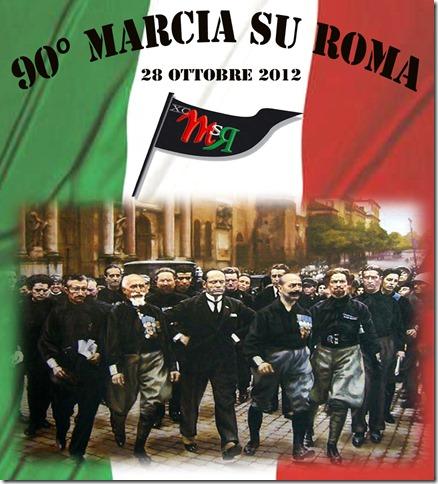 90°Marcia su Roma