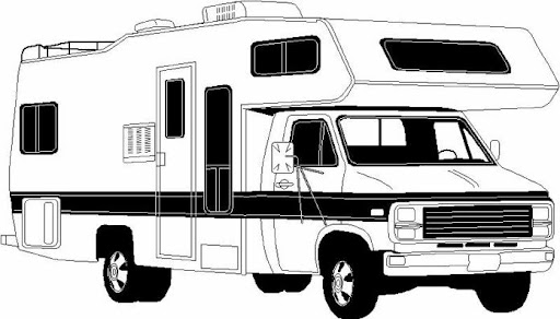 motorhome coloring pages - photo#35