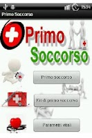 Screenshot of Primo Soccorso