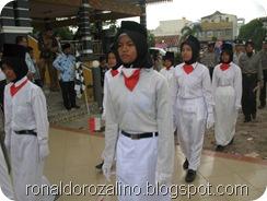 SMAN Pintar Ikut Karnaval di Kecamatan Kuantan Tengah Tahun 2012 13