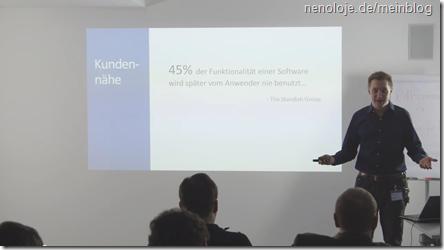 Vortrag: Scrum für Manager – Agilität aus betriebswirtschaftlicher Sicht