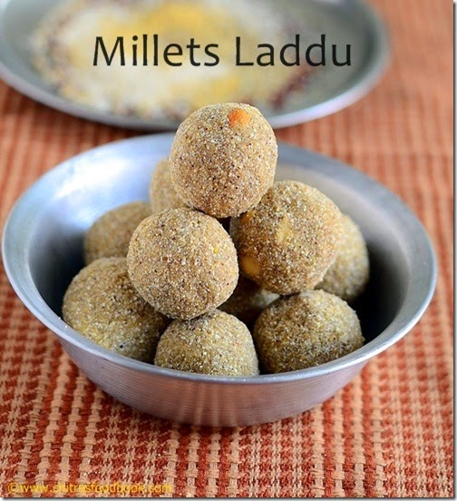 Millets ladoo