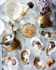 Oyster Rockafella. A110906 Food & Wine Torrisi Dec 2011