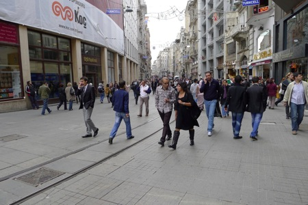Streets Around Taksim Square
