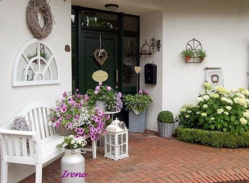 Shabby and charme stile nordico in germania nel u c giardino u c di