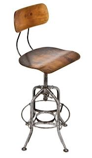 Toledo Uhl Stool Vintage Industrial Furniture
