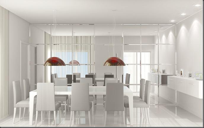 Interiores - sala de jantar