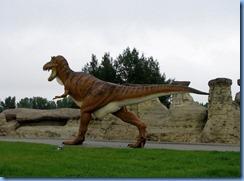 1765 Alberta corner Hwy 4 South & Hwy 501 East - Milk River Visitor Centre - 36-foot tall tyrannosaurus-rex
