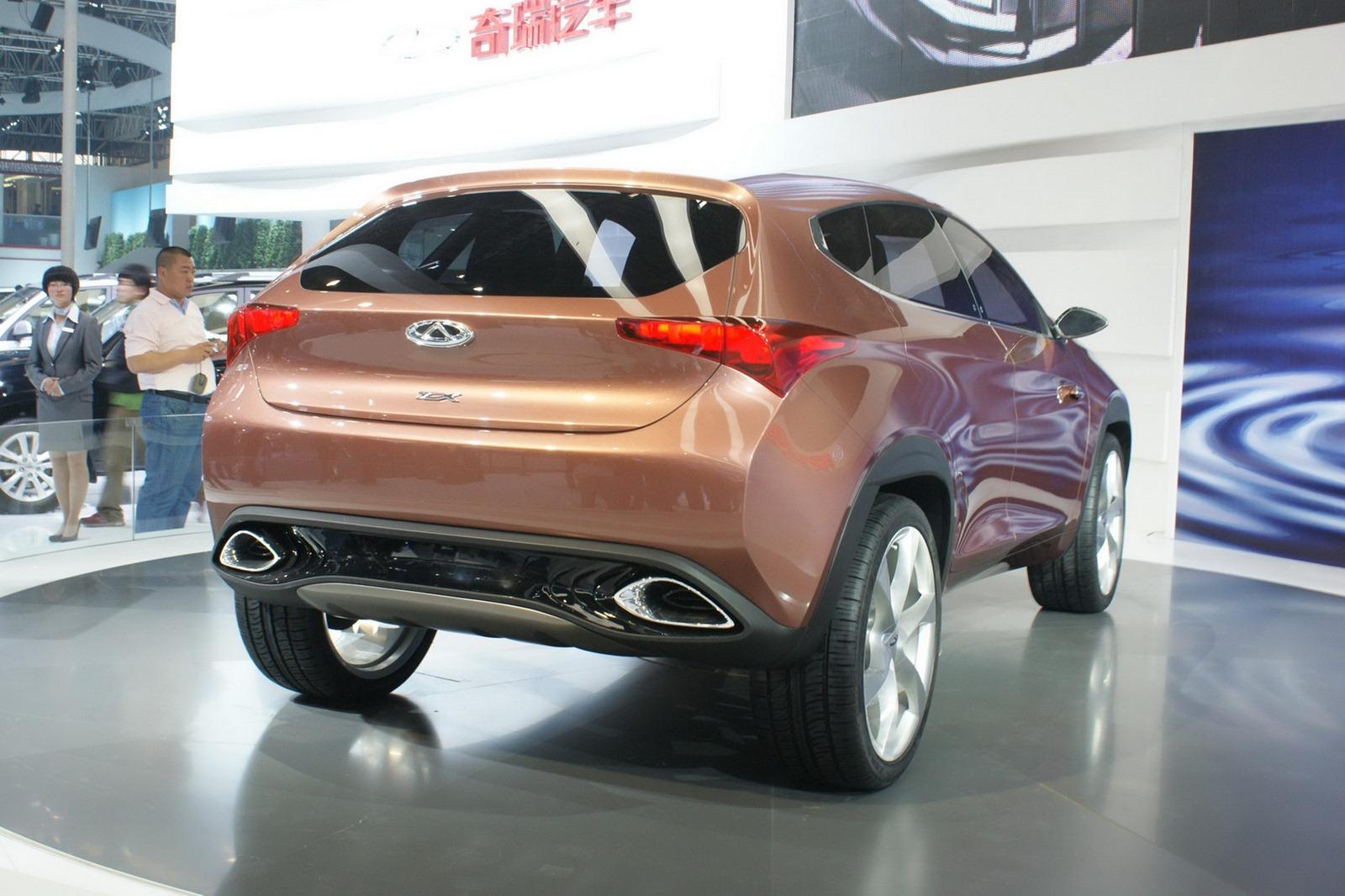 Новые модели китайских авто фото