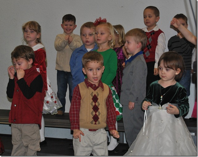 Christmas program 030