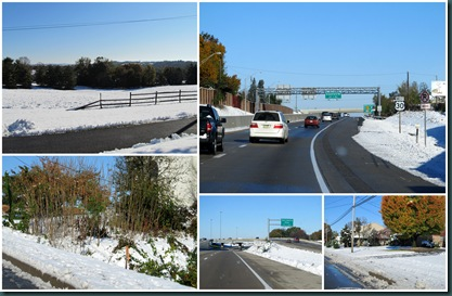 PA post-snow collage